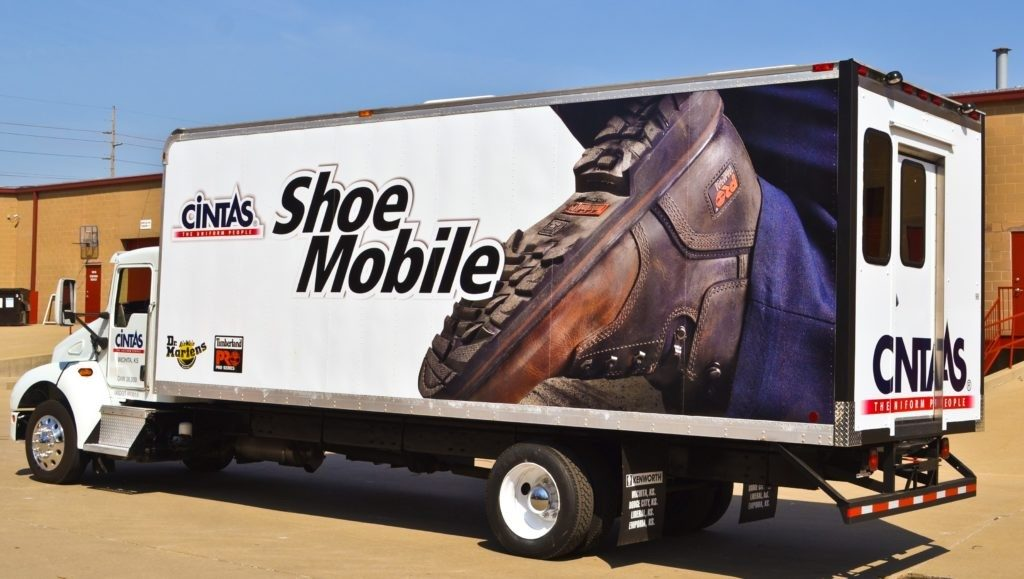 Cintas Shoe Mobile