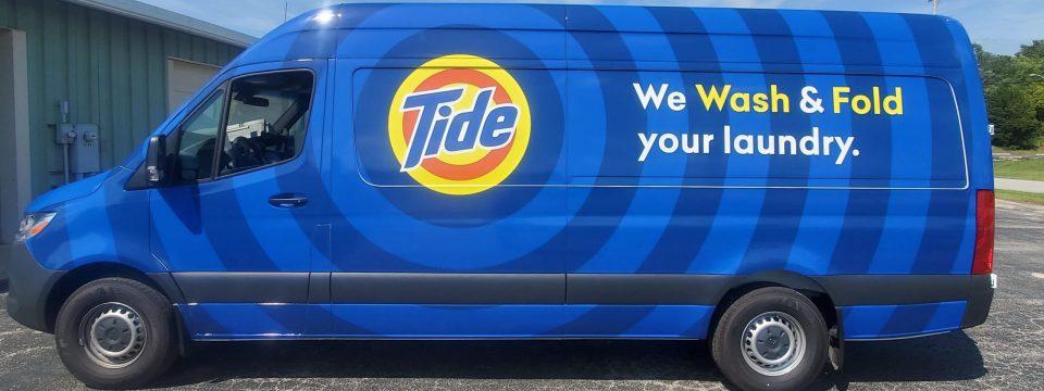 Tide van full wrap